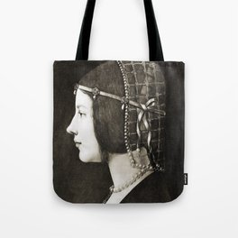 Bianca Sforza by Leonardo da Vinci Tote Bag