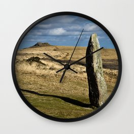 Menhir Wall Clock