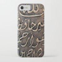 arabic iPhone & iPod Cases featuring Arabic - Quran by Brian Raggatt