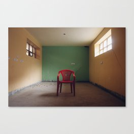 Red Chair Canvas Print