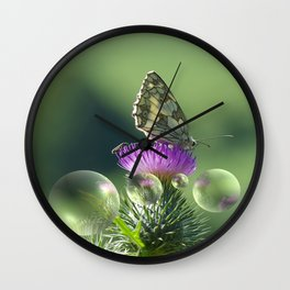 Feast for the eyes Wall Clock