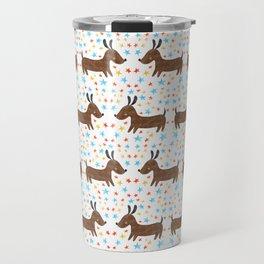 Yip Yip Hooray Weenie Dog Travel Mug
