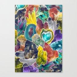 Crystals II Canvas Print