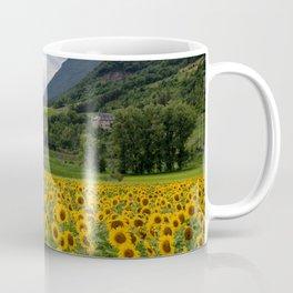 Sunflowers Field Landscape Coffee Mug