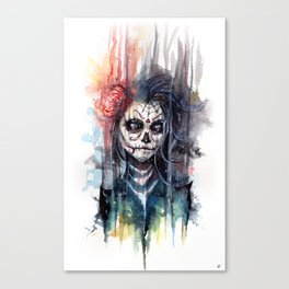 sugar skull - calavera de azucar Canvas Print