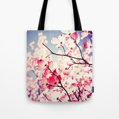 Dialogue With the Sky - Blue tones Tote Bag