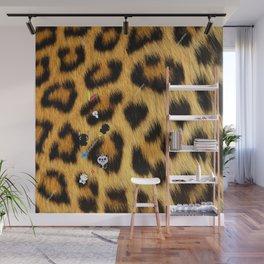 Leopard mix kawaii Wall Mural