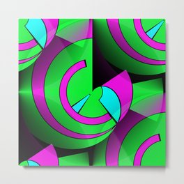 2D - abstraction -2b- Metal Print