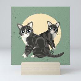 Lovely kitties Mini Art Print