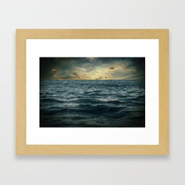 The Time I Was Daydreaming Framed Art Print