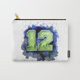12th Man Seahawks Seattle Go Hawks Art Carry-All Pouch