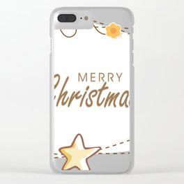christmas 14 Clear iPhone Case