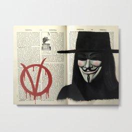 Vendetta Metal Print