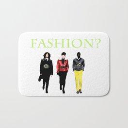Fashion? Bath Mat