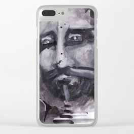Dark Frequencies Clear iPhone Case
