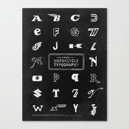 Dark Vintage Motorcycle Typogr...