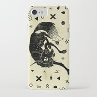 wolf iPhone & iPod Cases featuring Wolf by Anya Volk