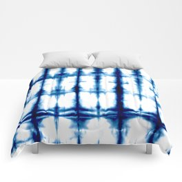 Indigo Dyed Stripe Comforters