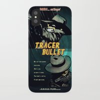 calvin and hobbes iPhone & iPod Cases featuring Calvin & Hobbes: Tracer Bullet Film Noir by Gallery 94