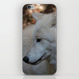 The sad wolf iPhone Skin