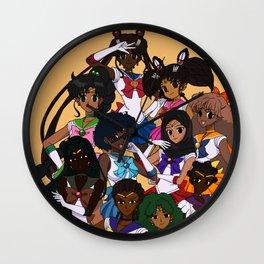 POC Sailor Senshi Wall Clock