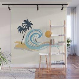 Minimalistic Summer II Wall Mural