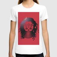 shiva T-shirts featuring Divine Shiva by Aurapim Vorasopan