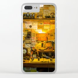 Wireless. Clear iPhone Case