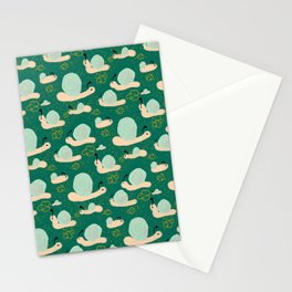 Snail Trail Stationery Cards