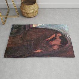 The Kiss Edvard Munch Painting Rug