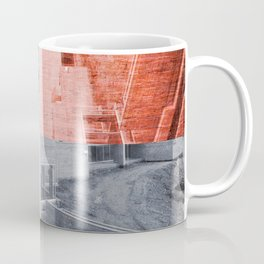 Popart Building Coffee Mug