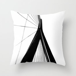 Normandy Bridge 3 Throw Pillow