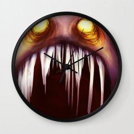 Sharp Pointy Teeth  Wall Clock