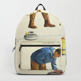 Grindelwald, Swiss Vintage Travel poster Backpack
