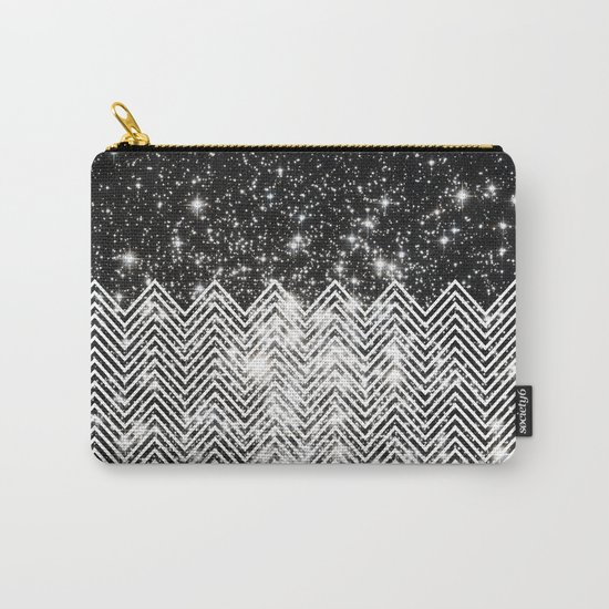Chevron Universe Carry-All Pouch