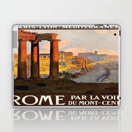 Vintage poster - Rome Laptop & iPad Skin