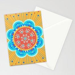 Mystic Eye Bloom Mandala Stationery Cards