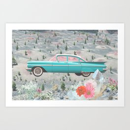 Magic Ride Art Print