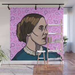 Susan B. Anthony Wall Mural