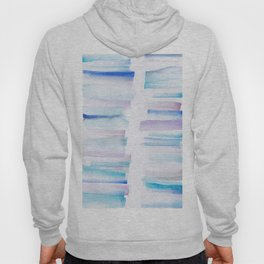 11 | 181101 Watercolour Palette Abstract Art | Lines | Stripes | Hoody