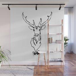 Oh Dear - Tape Art Wall Mural