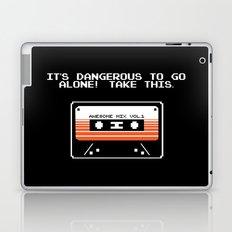 TAKE THIS TAPE (Zelda & Guardians of the galaxy Parody) Laptop & iPad Skin