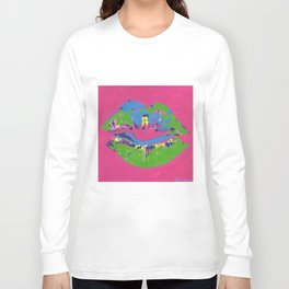 Lips Long Sleeve T-shirt