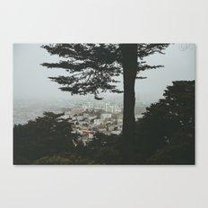 Buena Vista Park, San Francisco Canvas Print