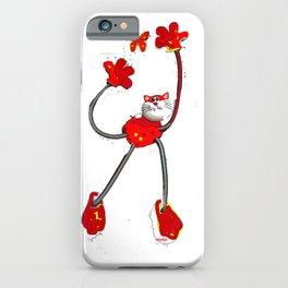flexi cat iPhone Case