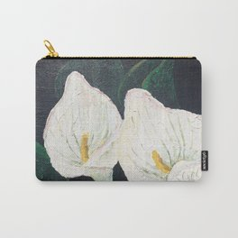 Calla Lily ... Winter Lilly Lily Lilies Lillies White Carry-All Pouch