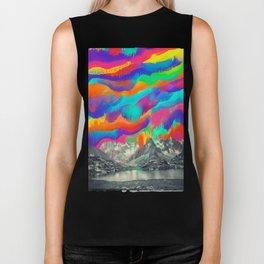 Skyfall, Melting Northern Lights Biker Tank