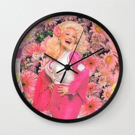 Dolly Parton Saint Dolly Wall Clock