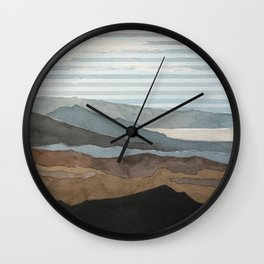 Salton Sea Landscape Wall Clock