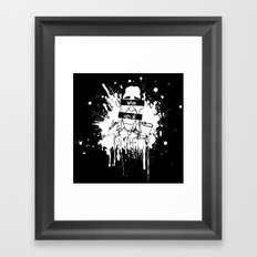Guess Who? Black Framed Art Print